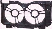 PEUGEOT 205 83- FRONT COWLING, INNER SECTION, DOUBLE FAN, PLASTIC, FULL BODY SECTION kk5503231